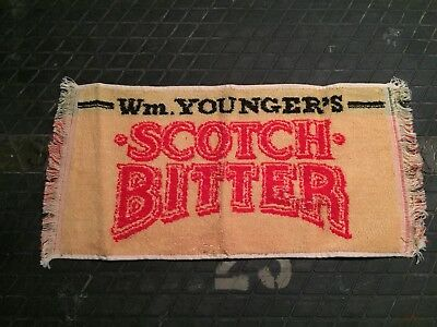 Wm. Younger's Scotch Bitter Beer Bar Hand Towel Pub