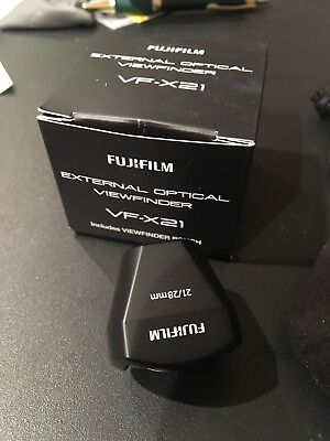 Fujifilm VF-X21 External Optical Viewfinder For X70 Camera