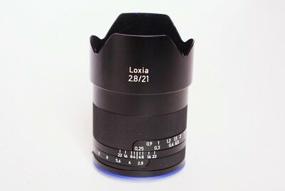 Zeiss Loxia 2.8 21mm Sony E Mount As New