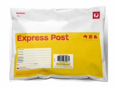 10 X Express Post 3Kg Satchel Free Express Post