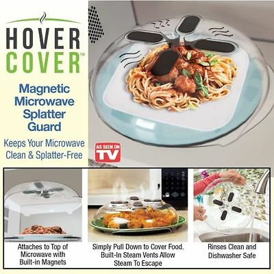 Hover Cover Magnetic Microwave Food Cover Seen On Tv New Free Shipping 2017 Lot