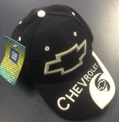 Brand New Embroidered Chevrolet Peak Cap GM Licensed Product Aussie Seller