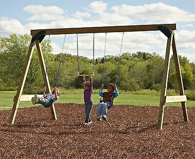 Wooden Swing Set Hardware Kit Outdoor Play Set Playground Backyard