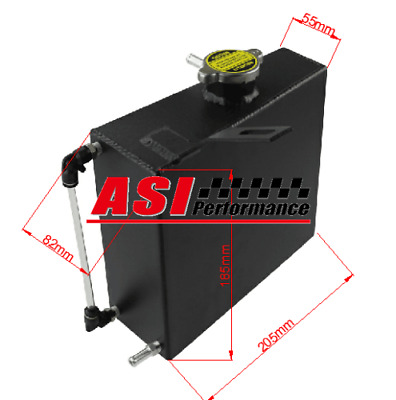 ASI Aluminum Radiator Coolant Overflow Tank For Supra Twin Turbo 2JZ 2JZGTE