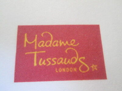 4 Madame Tussauds Tickets For Friday 5Th January 2018