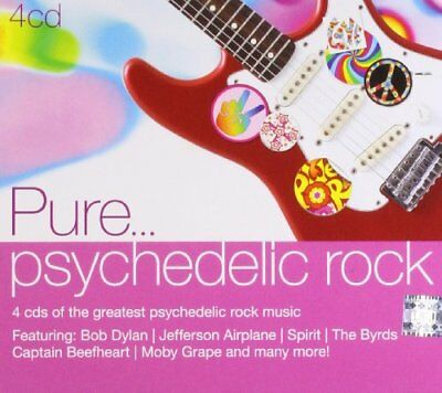 Pure... Psychedelic Rock -  CD 5YVG The Fast Free Shipping