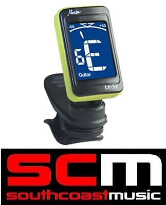 Clip-On Chromatic Tuner Backlit Screen Fast And Easy Tuning Guitar, Bass, Violin