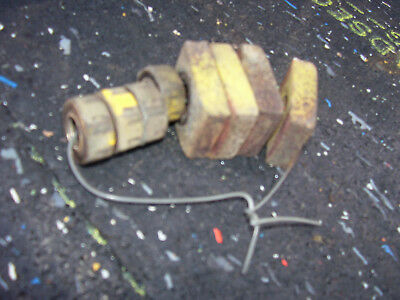 Vintage Minneapolis Moline Rtu  Tractor -Engine  Manifold Clamps & Nuts- 1943