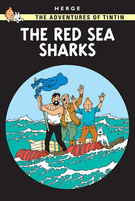 The Adventures of Tintin: The Red Sea Sharks by Herg (Paperback)