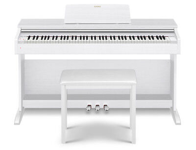 Casio Celviano Ap270We Digital Piano - White (Ap-270We)
