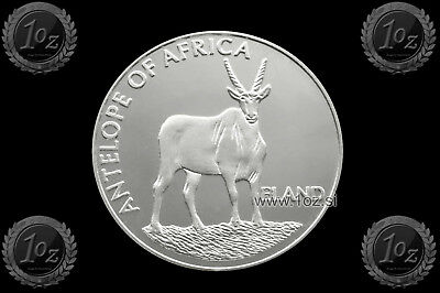 MALAWI 10 KWACHA 2003 ( ANTELOPE of AFRICA - ELAND ) SILVER Commem. coin * PROOF
