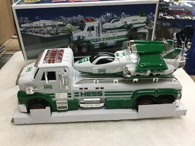 HESS 2014 Toy Truck and Space Cruiser With Scout 50 Year Anniversary