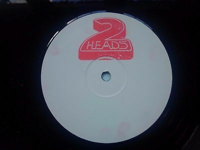 "2 Heads ‎– Out Of The City : 2M : Ashley Slater : White Label 12"" House"