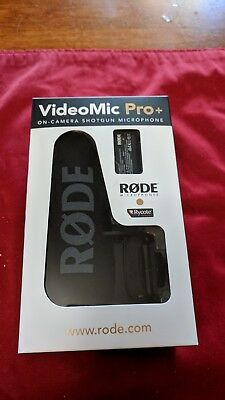 Rode VideoMic Pro Plus On-Camera Shotgun Microphone Kit