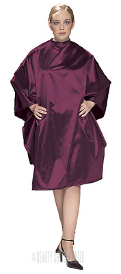 Olivia Garden Charm All Purpose Chemical Cape - Burgundy - CR-C2