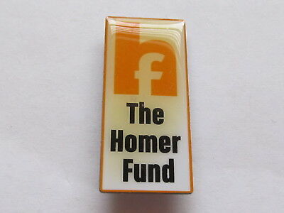 New Home Depot the homer fund Lapel Pin