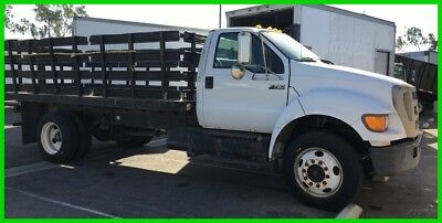 2007 Ford F-750 Diesel 16 ft Stakebed