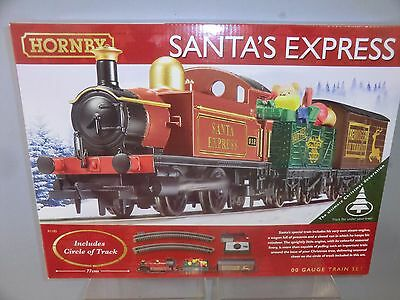 "HORNBY RAILWAYS MODEL No.R 1185 ""SANTA'S EXPRESS""  TRAIN SET  MIB"