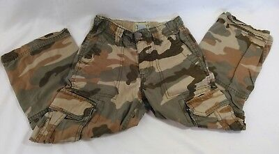 Size 5 Old Navy Kids Cargo Camouflage Adjustable Pants