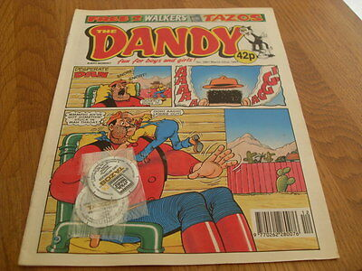 The Dandy Issue 2887 1997 + Free Tazos