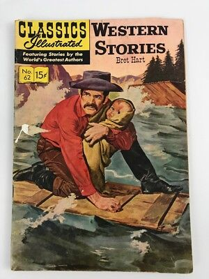 CLASSICS ILLUSTRATED #62 — 1949  Western Stories