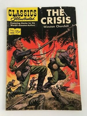 CLASSICS ILLUSTRATED #145 — 1958  The Crisis