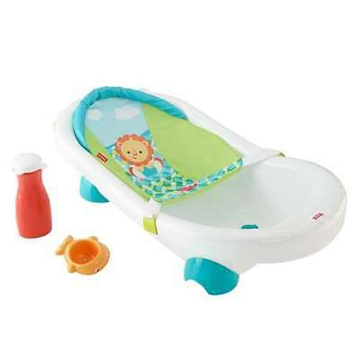 Fisher Price Grow with Me Infant Toddler Baby Go Wild Bathroom Tub (Open Box)
