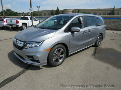 2018 Honda Odyssey Touring Automatic Touring Automatic New 4 dr Van Automatic Gasoline 3.5L V6 Cyl Lunar Silver Metal