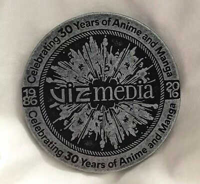 Viz Media Anime Manga 30th Anniversary Limited Exclusive Commemorative Coin 2016