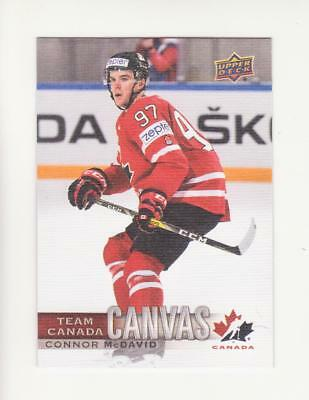 2017-18 UD Canadian Tire Team Canada Canvas TCC1 - TCC22 (17-18) Pick From List