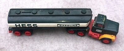 """Old 1980""""S Hess Truck Fuel Oil Tank Toy Car"""
