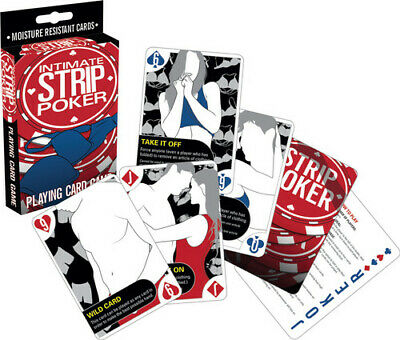 Intimate Strip Poker (Playing Card Game)