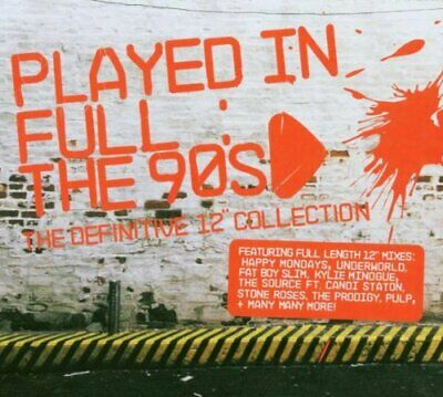 Various Artists - Played In Full: The 90s - The Def... - Various Artists CD MOVG