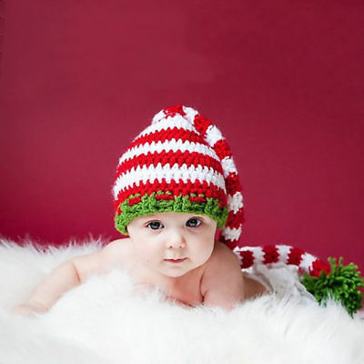 Infant Baby Toddler Girls Boys Kids Warm Winter Cap Hat Christmas Gifts AU Stock