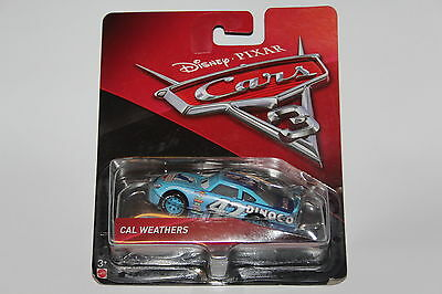 Disney Pixar Cars 3 Diecast Car  Cal Weathers 1:55 Scale