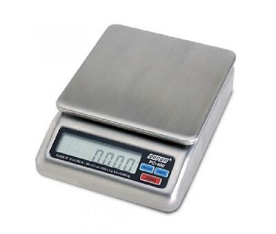 Doran PC-400-05 Portion Control Scale 5x0.002 lb,NTEP Legal for Trade,SS,New