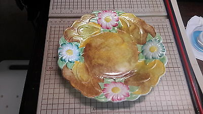 James Kent Plate - Majolica - 8 3/4 Inches