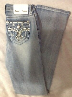 Denim Couture Bootcut Faded Spade