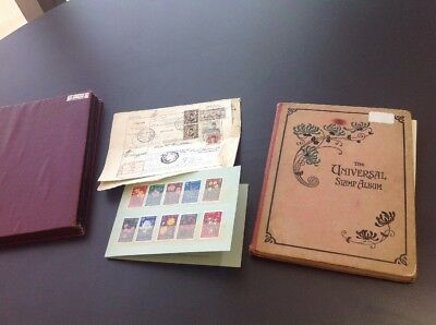 1250 World Stamps, Includes 2 Albums.