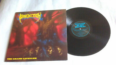 Lp-Benediction-The Grand Leveller-Nuclear Blast-First Press-1991-Mint