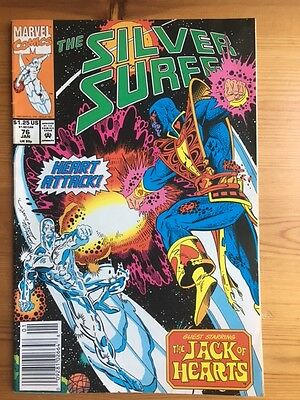 Silver Surfer 76 - Jack of Hearts, Nebula,Firelord, Air Walker, Galactus, Marvel
