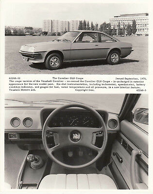 Vauxhall Cavalier Gls Coupe, Period Photograph.