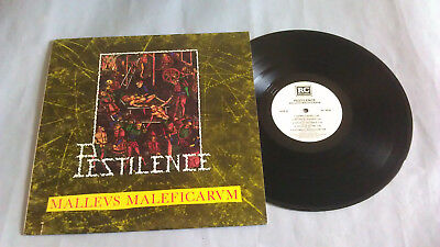 Lp-Pestilence-Malleus Maleficarum-Rc Records-Us-1988-Mint