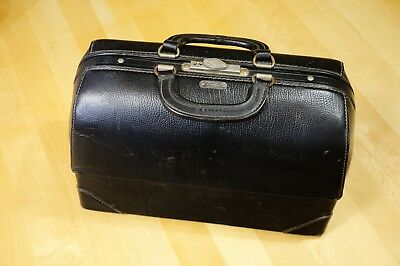 Emdee Schell doctor medical bag classic style leather case