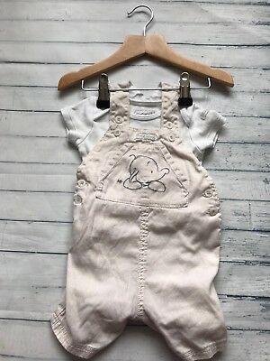 Baby Boys Clothes Outfits  0-3 Months- Cute Dungarees Outfit & Top