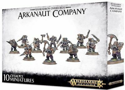Warhammer KHADARON OVERLORDS ARKANAUT COMPANY  -  FREE POSTAGE