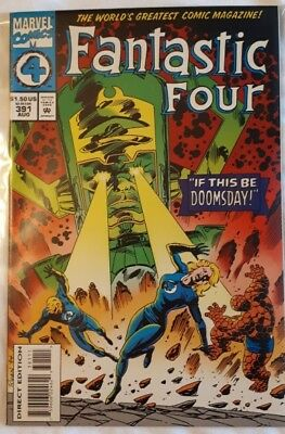 Fantastic Four #391 Marvel Comics Collectors Item Silver Age **free Postage**