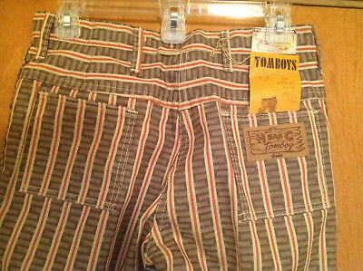 Womens Vintage H Bar C Western Slim Pants Size 28  NWT