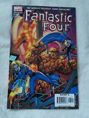 marvel comics fantastic four #535,april 2006,new condition,bagged & boarded