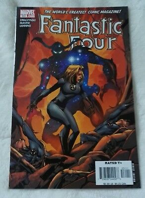 marvel comics fantastic four #531,november 2005,new condition,bagged & boarded
